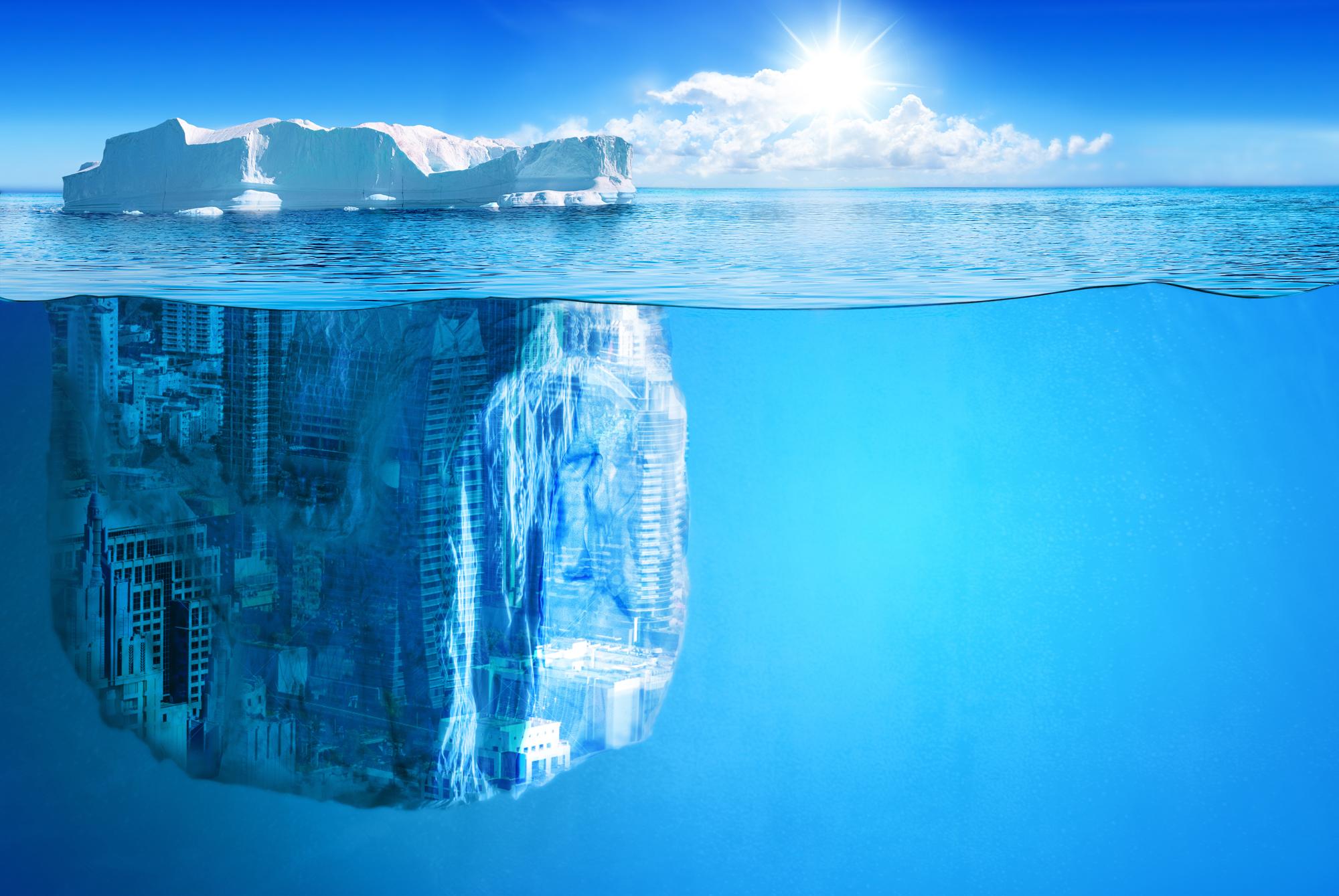 city-iceberg